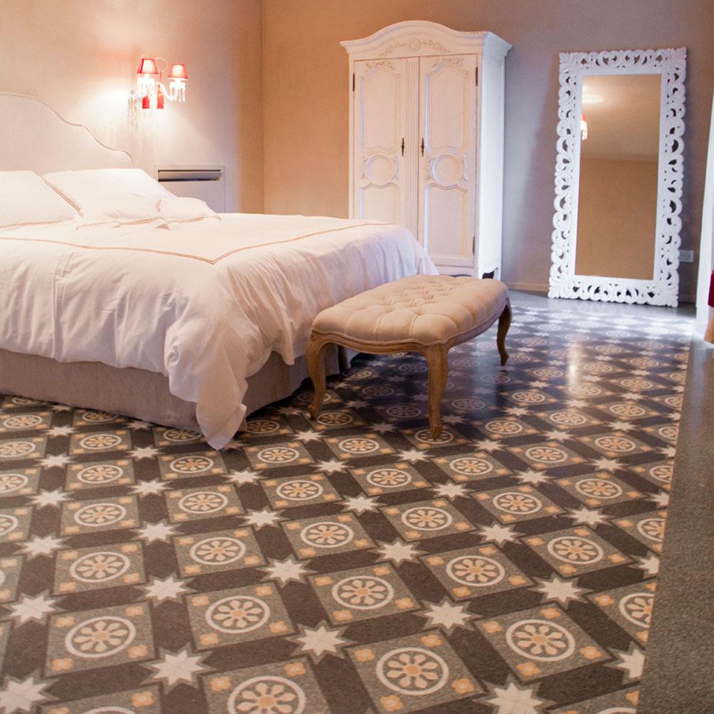 piastrelle in marmo per la camera da letto